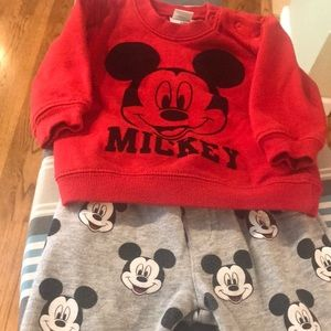Mickey Mouse Sweatsuit